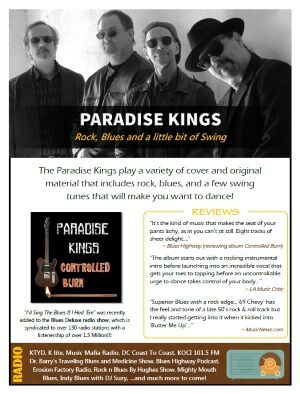 Paradise Kings One Sheet